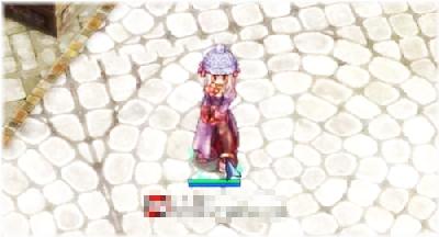 毛糸の帽子(青)