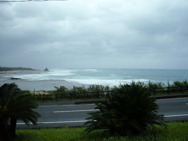 土浜-台風2