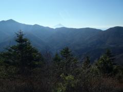 見晴らし台からの富士山