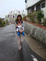 雨の散歩②