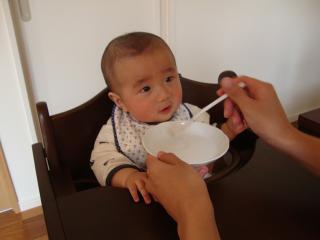 初離乳食①
