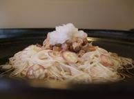 三原さんのツナ納豆冷やしそうめん_20111009