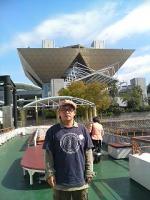 東京ビッグサイトを背に・・・