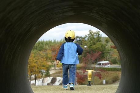 トンネルを抜けると・・・
