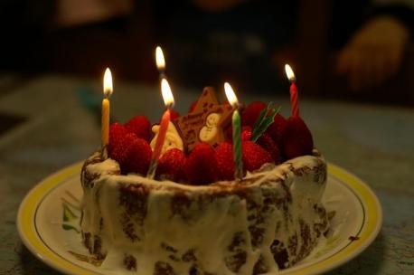手作りチョコケーキ♪