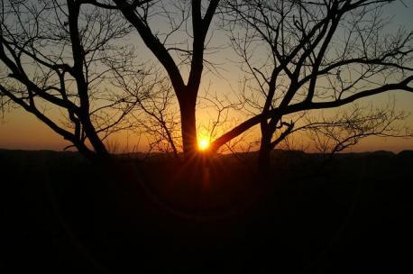 夕陽・・・irakaさんのまねっこ♪笑