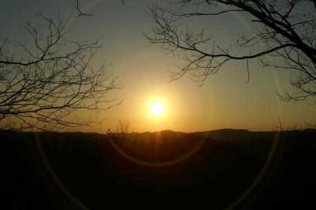 夕陽の輪♪笑