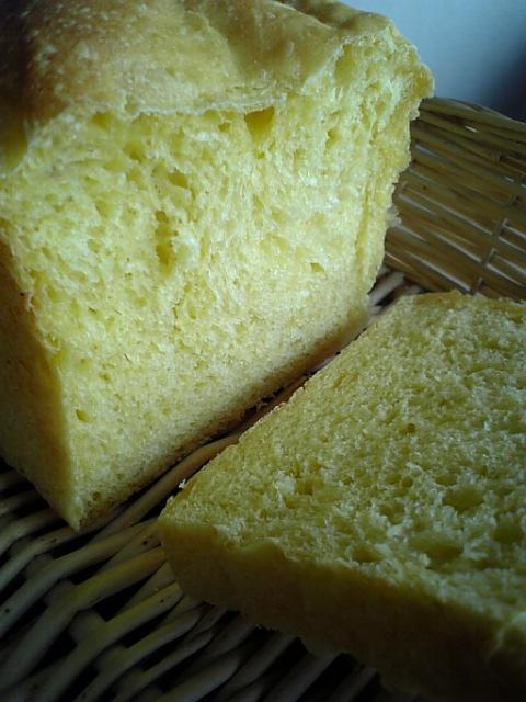 蜜柑酵母山食パン