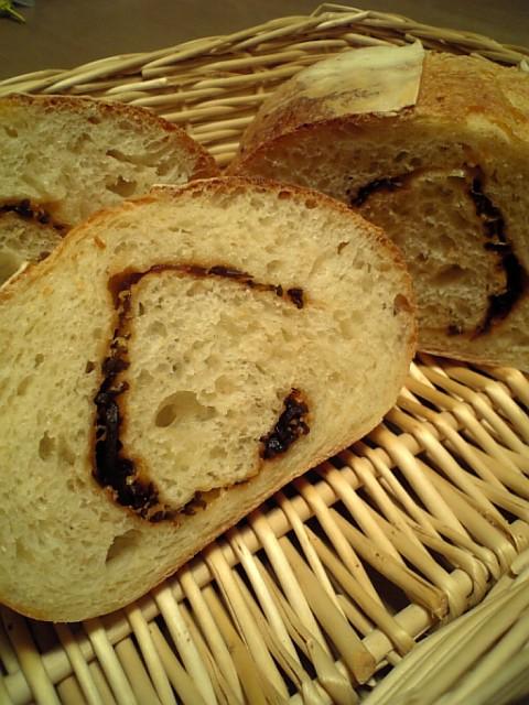 塩こんぶとエダムチーズのカンパーニュ