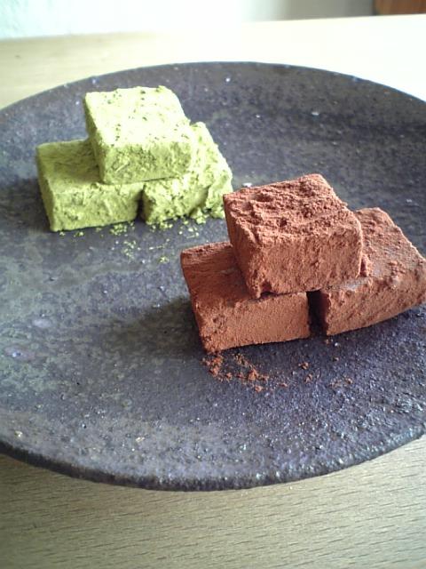 マクロビ風生チョコレート