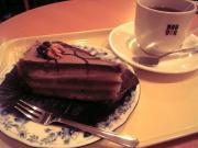 くるみとチョコのケーキ