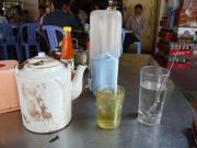 シアヌーク通りの食堂でのランチ2