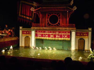 ハノイの水上人形劇9