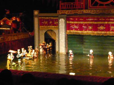 ハノイの水上人形劇10