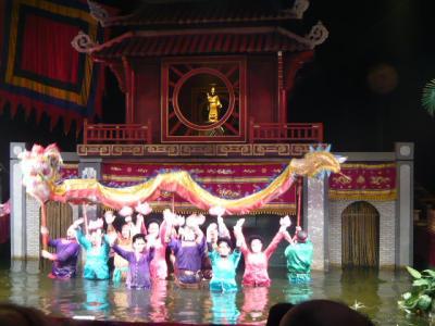 ハノイの水上人形劇12