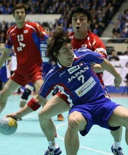 ハンドボール日本男子