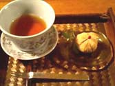 里芋の茶巾しぼり