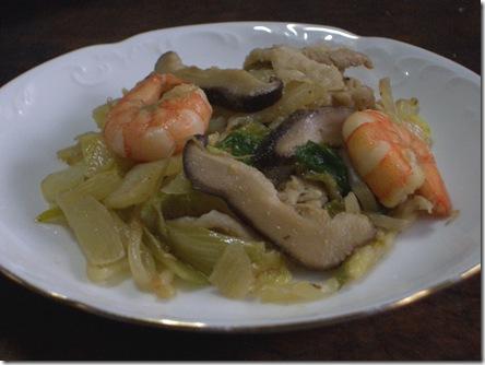 干し椎茸使用の料理