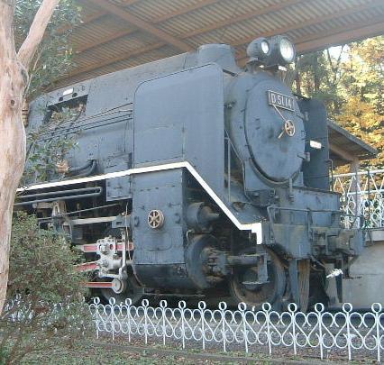 蒸気機関車 D51