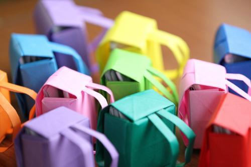 ハート 折り紙 折り紙でプレゼント : hagifood.com
