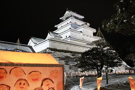 会津絵ろうそく祭り 2012 2 10 004