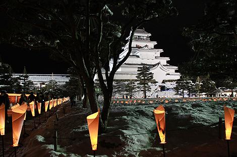 会津絵ろうそく祭り 2012 2 10 003