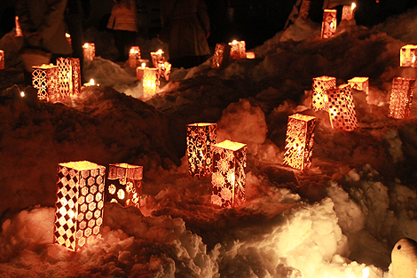 会津絵ろうそく祭り 2012 2 10 002