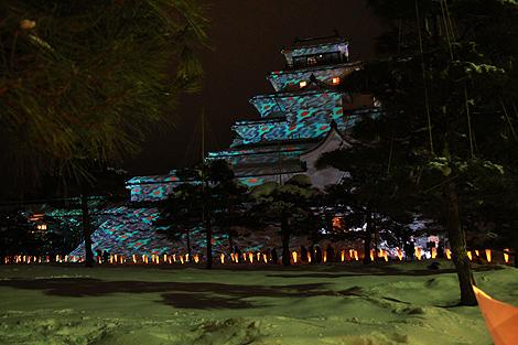 会津絵ろうそく祭り 2012 2 10 013