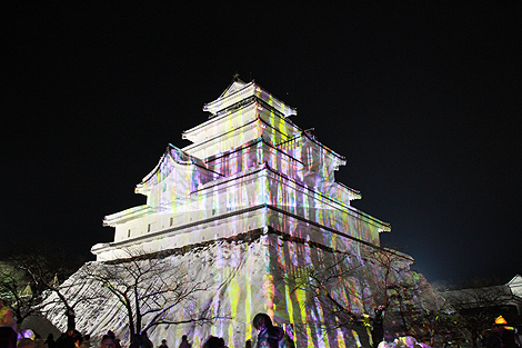 会津絵ろうそく祭り 2012 2 10 020