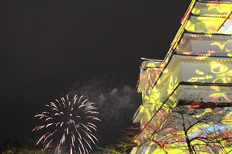 会津絵ろうそく祭り 2012 2 10 027