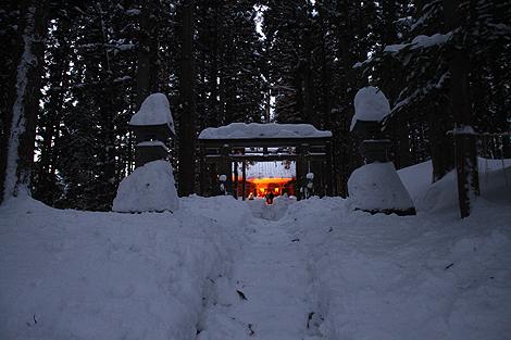 2012 2 11 大内雪祭り 2 104