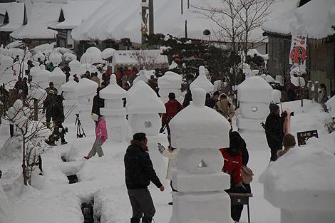 2012 2 11 大内雪祭り 2 101