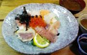海鮮丼@1050
