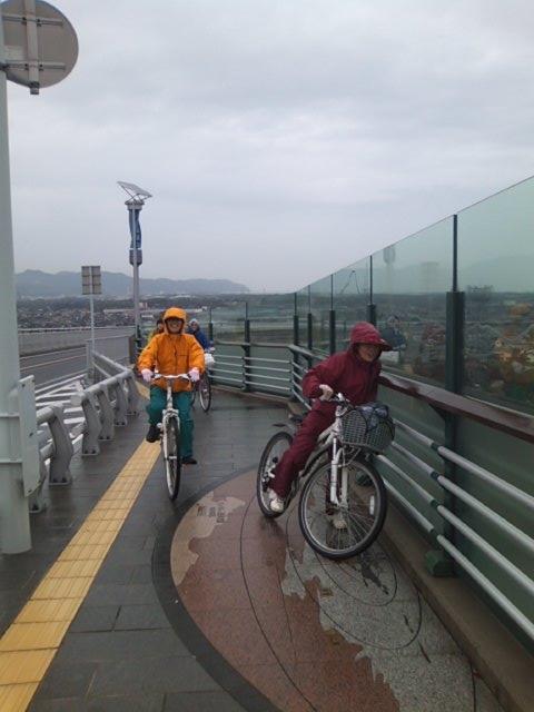 大根島に渡る大橋を登り切った所は鳥取と島根の県境