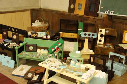 文化展と森のなかのマーケット4