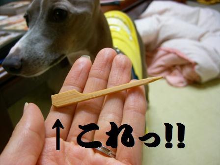 おでんの串???