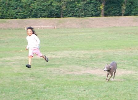 走っても転んでも楽しい!