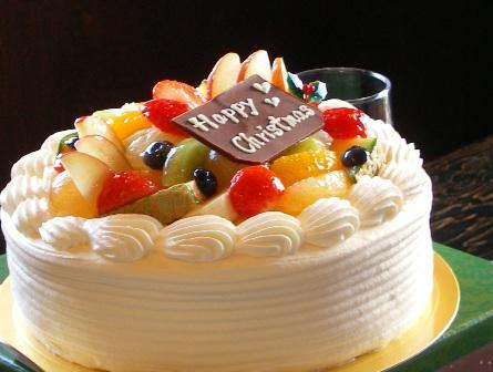 キラキラ輝くおケーキ