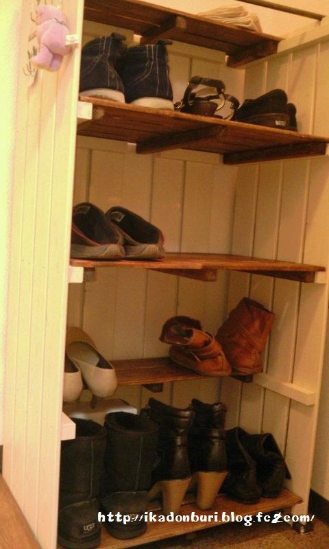すのこ靴箱14