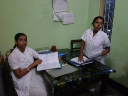 Srimangal Upazila Hospitalの看護士さん