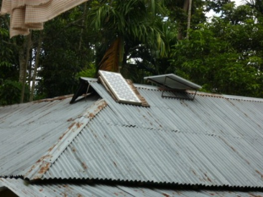 Solar Panal in Rural Bangladesh