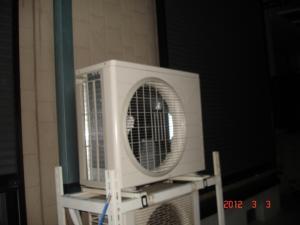 ダイキンのエアコン室外機