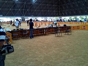 選考会会場2011