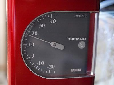 室温18℃V