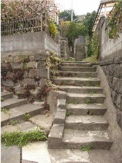 横須賀の階段、其の一