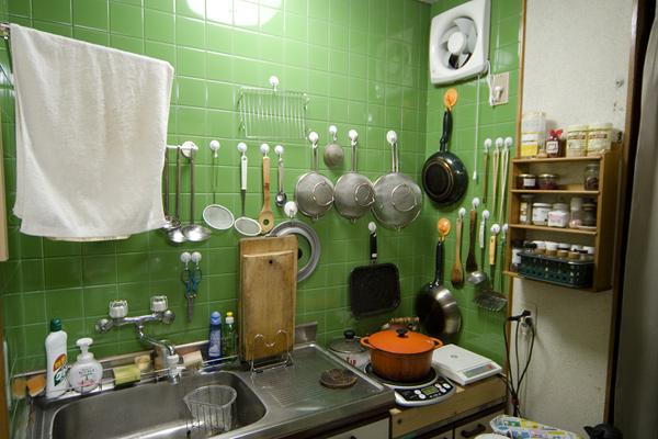 調理場です。