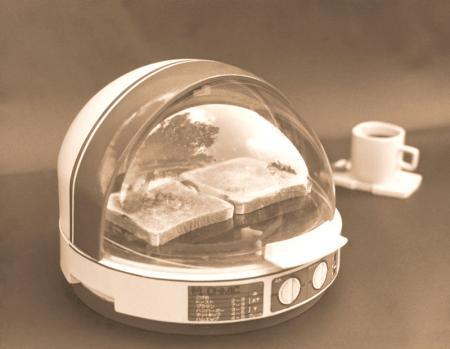 ドーム型オーブントースター