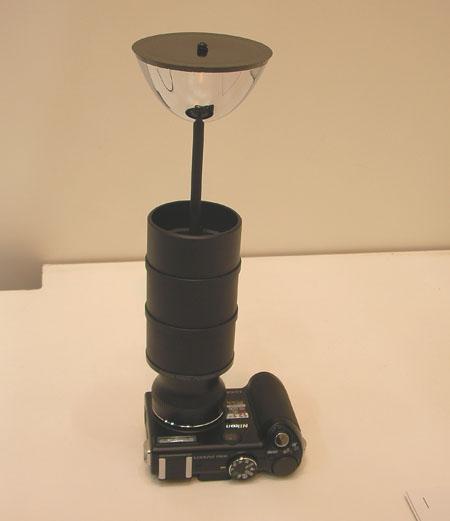 全方位ミラーカメラ