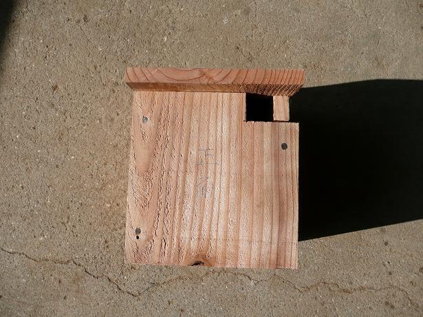 小鳥巣箱作り5