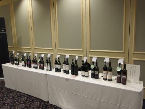 ワイン試飲会オーストラリア